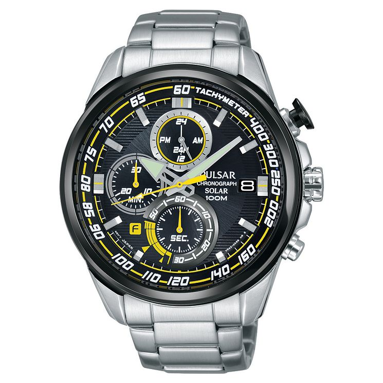 Pulsar Men's Chronograph Stainless Steel Bracelet Watch - Product number 5293030