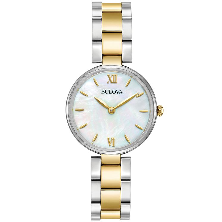 Bulova Ladies' 2 Colour Stainless Steel Bracelet Watch - Product number 5293138