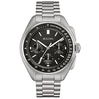 Bulova Lunar Pilot Chronograph Men's Steel Bracelet Watch - Product number 5293200