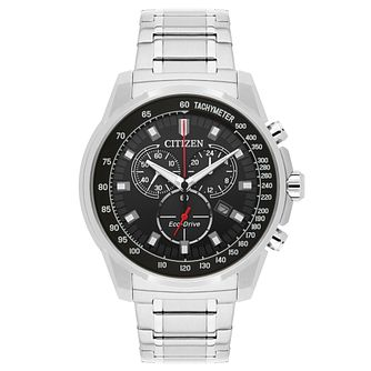 Citizen Eco-Drive Men's Stainless Steel Bracelet Watch - Product number 5295130