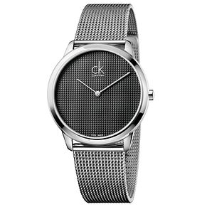 Calvin Klein Minimal Men's Steel Mesh Bracelet Watch - Product number 5295971
