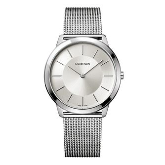 Calvin Klein Minimal Steel Mesh Bracelet Watch - Product number 5295998
