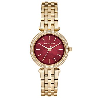 Michael Kors Ladies' Gold Tone Bracelet Watch - Product number 5296404