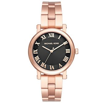 Michael Kors Noire Ladies' Rose Gold Tone Bracelet Watch - Product number 5296420