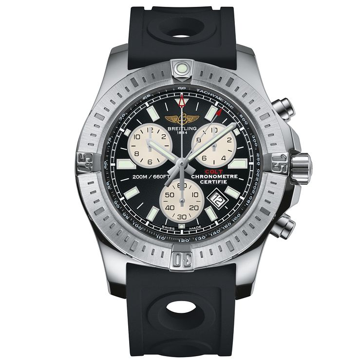 Breitling Colt Chronograph Men's Stainless Steel Strap Watch - Product number 5297699