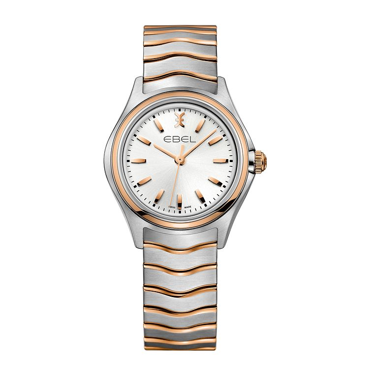 Ebel Wave Ladies' Two Colour Bracelet Watch - Product number 5315387