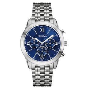 Bulova Men's Chronograph Stainless Steel Bracelet Watch - Product number 5316634
