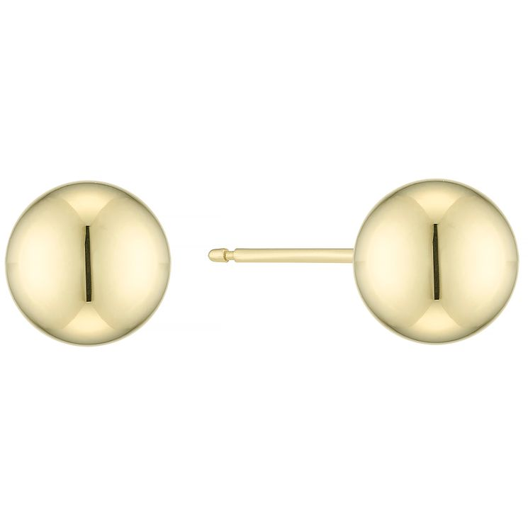 9ct Gold Ball Stud Earrings - Product number 5319870