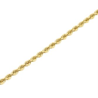 "9ct Gold 28"" Hollow Rope Chain - Product number 5320194"
