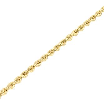 "9ct Gold 30"" Hollow Rope Chain - Product number 5320216"