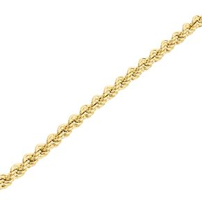 "9ct Gold 28"" Hollow Rope Chain - Product number 5320232"