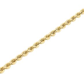 "9ct Gold 28"" Hollow Rope Chain - Product number 5320275"