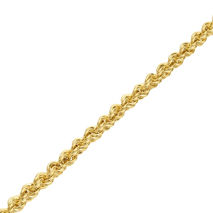"9ct Gold 30"" Hollow Rope Chain - Product number 5320283"