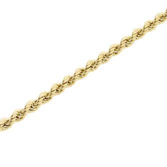 "9ct Gold 26"" Hollow Rope Chain - Product number 5320291"