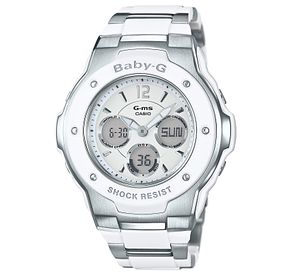 Casio Baby-G Ladies' Stainless Steel Bracelet Watch - Product number 5320577