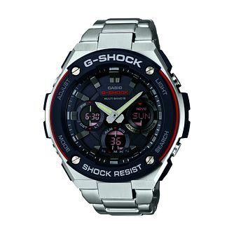 Casio G Shock Men's Stainless Steel Bracelet Watch - Product number 5320615