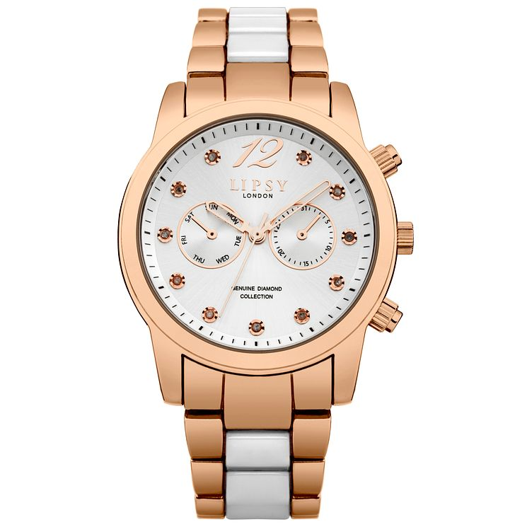 Lipsy Ladies' Two Tone Bracelet Watch - Product number 5321441