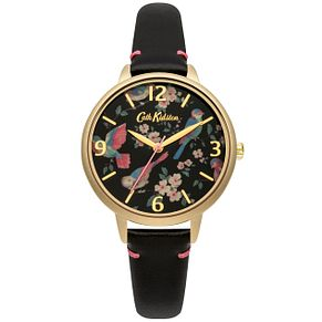 Cath Kidston Ladies' Black Leather Strap Watch - Product number 5321786