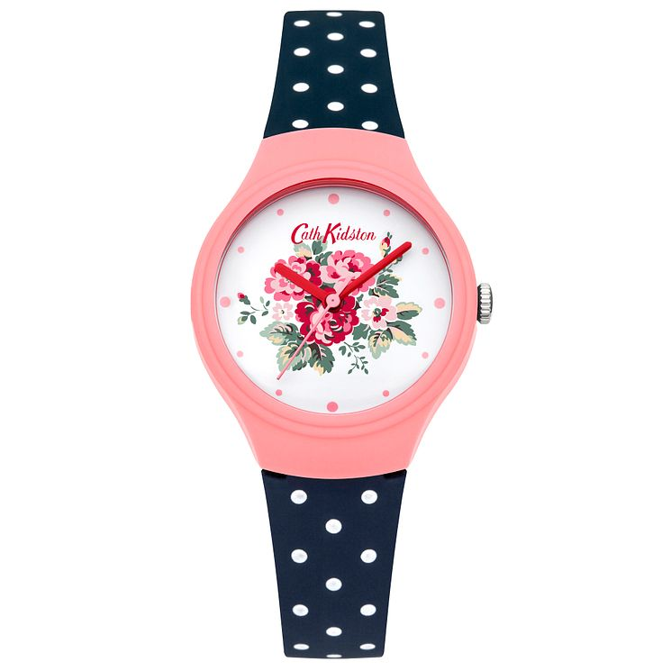 Cath Kidston Ladies' Navy Silicone Watch - Product number 5322138