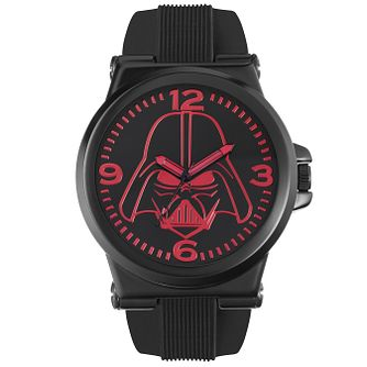 Star Wars Darth Vader Black Silicone Strap Watch - Product number 5322219