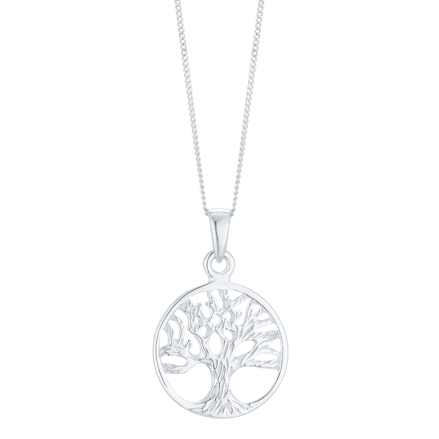 necklace life silver tree celtic of sterling