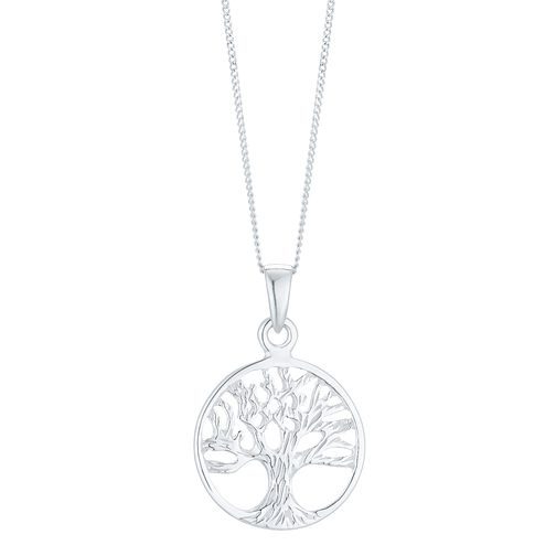 Sterling Silver Tree of Life Design Pendant - Product number 5326230