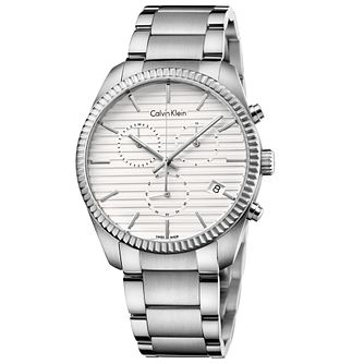 Calvin Klein Alliance Men's Stainless Steel Bracelet Watch - Product number 5331595