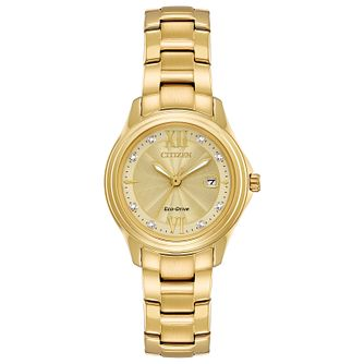 Citizen Ladies' Gold Plated Bracelet Watch - Product number 5331692