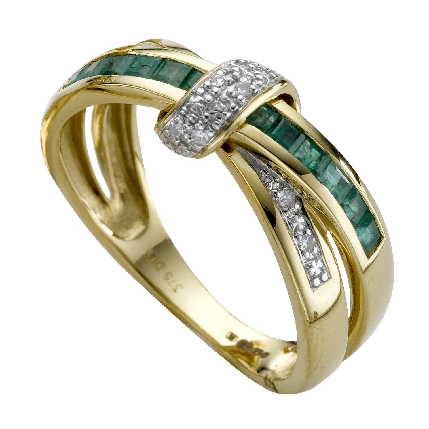 diamond all diamonds ring bands eternity band a emerald gold with white around furst thin french products france setting