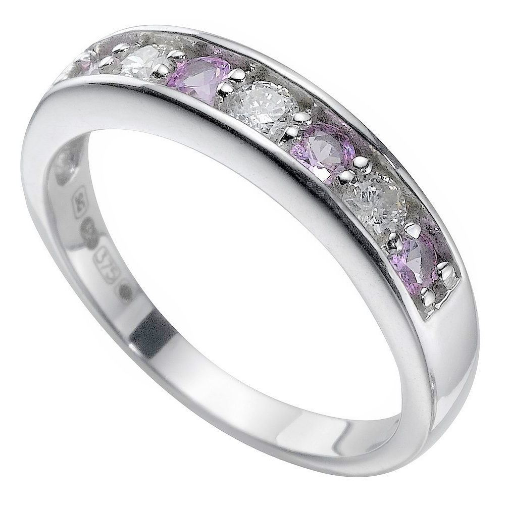 band sapphire wedding platinum or mid ctw anniversary deco century diamond art and products stacking