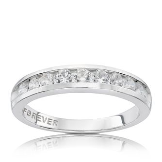 18ct White Gold 1/2 Carat Forever Diamond Ring - Product number 5423732