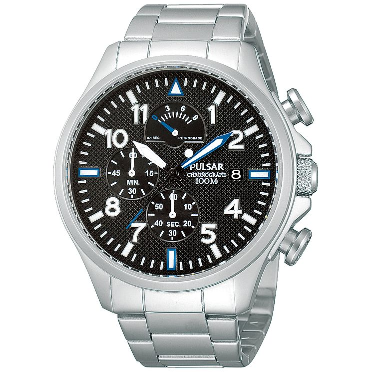 Pulsar Gent's Stainless Steel Bracelet Watch - Product number 5427355