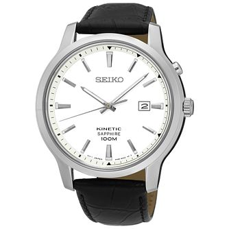 Seiko Men's Black Strap Watch - Product number 5427959