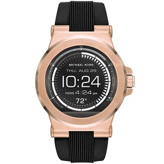 Michael Kors Access Dylan Men's Rose Gold Tone Smartwatch - Product number 5430925