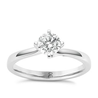 The Diamond Story 18ct White Gold 1/2ct Diamond Ring - Product number 5511534