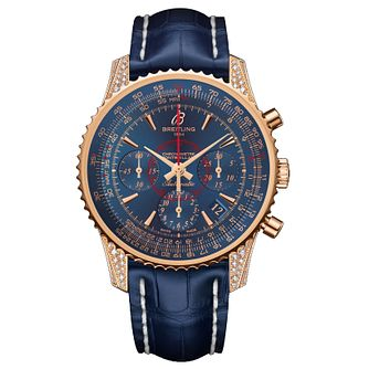 Breitling MontBrilliant Ladies' 18ct Rose Gold Strap Watch - Product number 5516307