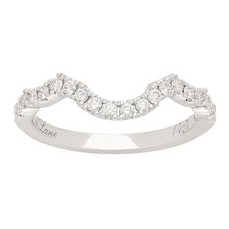 Neil Lane 14ct White Gold 0.28ct Diamond Shaped Band - Product number 5519144