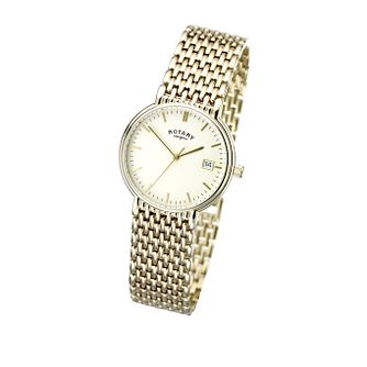 Rotary Men's Gold-Plated Bracelet Watch - Product number 5594510