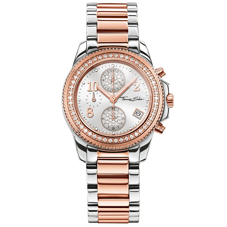 Thomas Sabo Glam Ladies' Two Colour Bracelet Watch - Product number 5695058