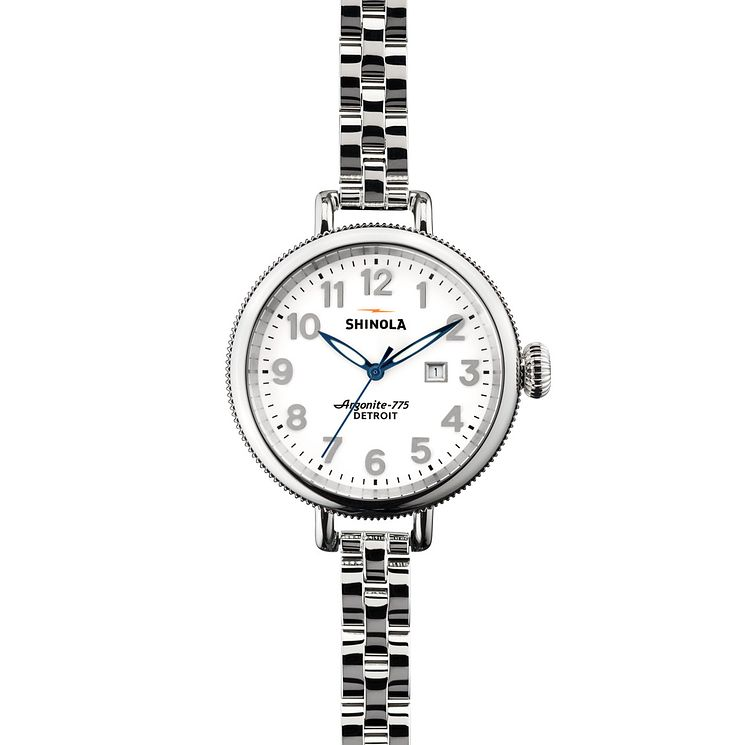 Shinola Birdy Ladies' Stainless Steel Bracelet Watch - Product number 5696356