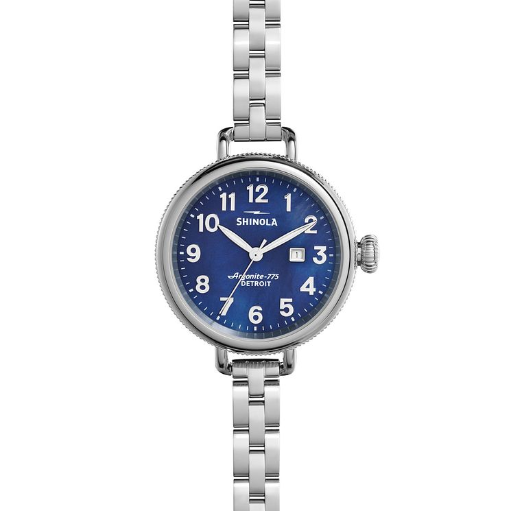 Shinola Birdy Ladies' Stainless Steel Bracelet Watch - Product number 5696429