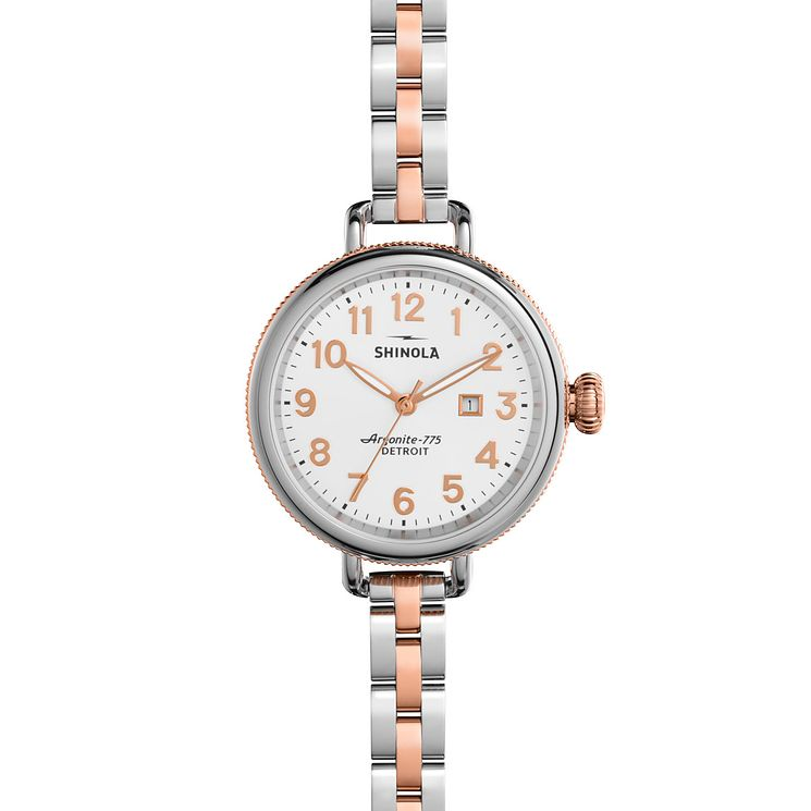 Shinola Birdy Ladies' Two Colour Bracelet Watch - Product number 5696437