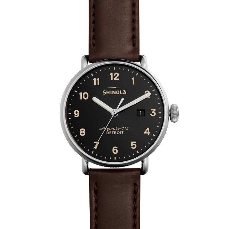 Shinola Canfield Men's Stainless Steel Strap Watch - Product number 5696933
