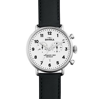 Shinola Canfield Men's Stainless Steel Strap Watch - Product number 5696968