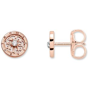 Thomas Sabo Rose Gold Plated Flower Studs - Product number 5697956