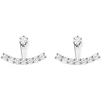 Thomas Sabo Sterling Silver Stone Set Earring Jackets - Product number 5698359
