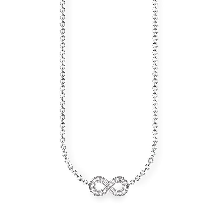 Thomas Sabo Sterling Silver Eternal Diamond Necklace - Product number 5698634