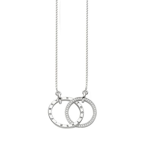 Thomas Sabo Sterling Silver Together Link Necklace - Product number 5698839