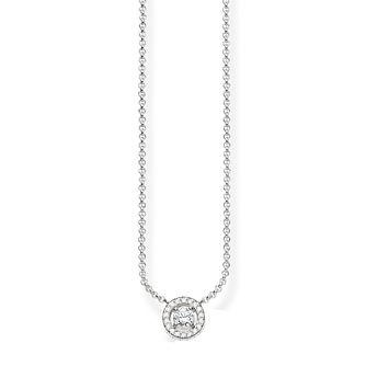 Thomas Sabo Sterling Silver Stone Set Necklace - Product number 5698847