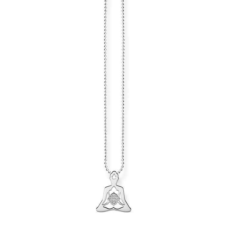 Thomas Sabo Sterling Silver Yoga Necklace - Product number 5698898
